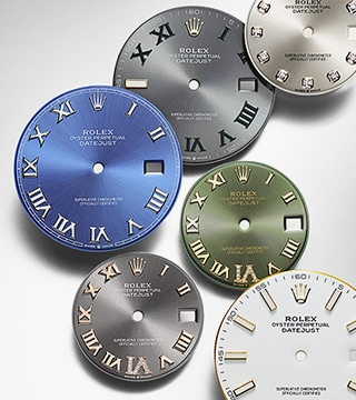 About Rolex watches Dials
