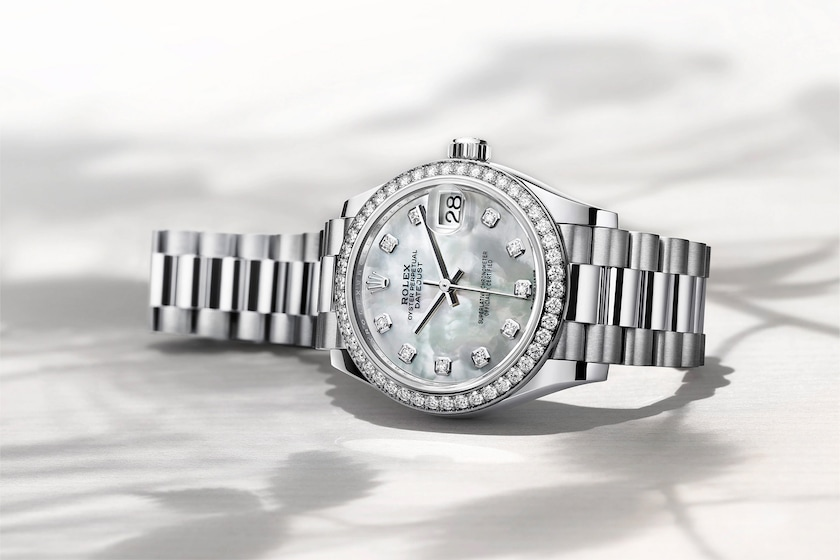 Datejust mother of pearl beauty