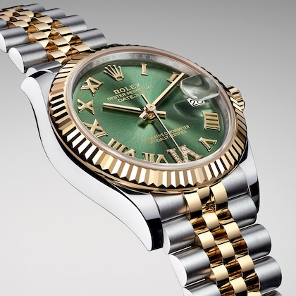 Datejust green dial