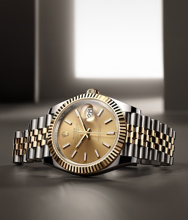 Datejust rolesor yellow dial