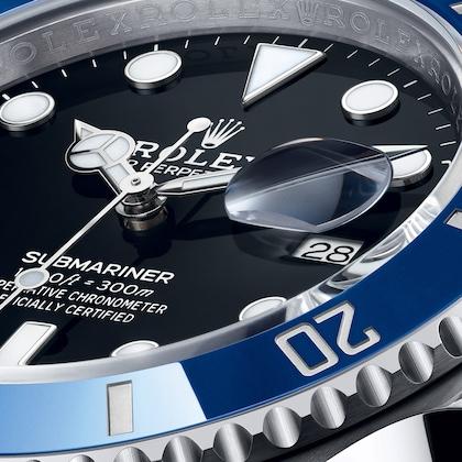 New Submariner black dial