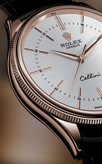 Cellini bezel hours