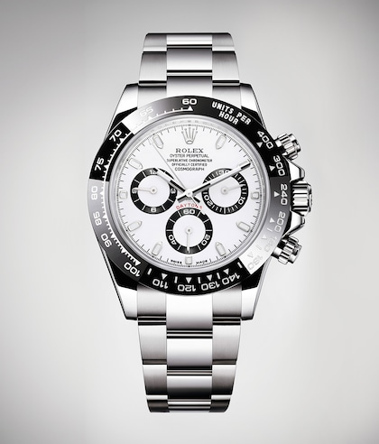 Cosmograph Daytona black white