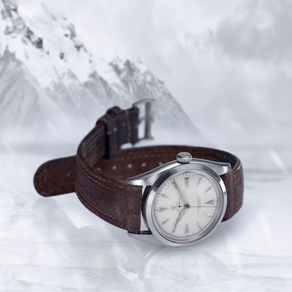 Explorer historia Everest zegarek 1953