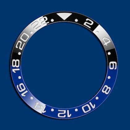 GMT-MASTER II دورقاب آبی مشکی