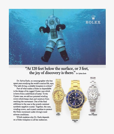 Lady Datejust  A pioneering oceanographer and Rolex Testimonee