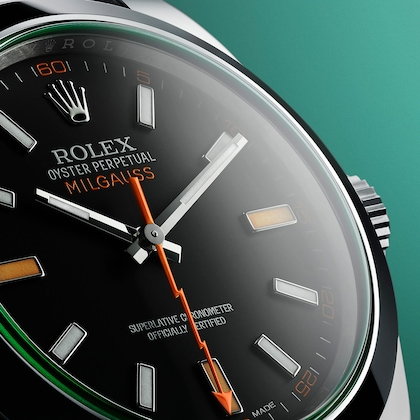 Milgauss beauty dial