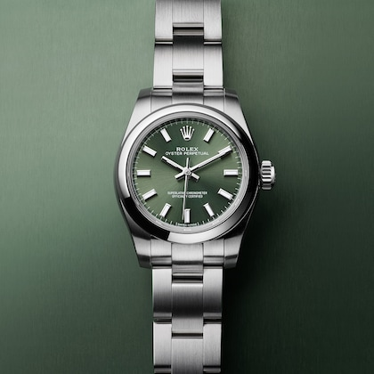 Oyster Perpetual olive
