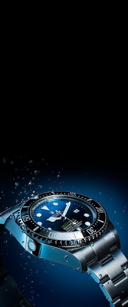 Underwater Rolex Deepsea