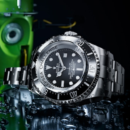 Sea-Dweller Don Walsh i Jacques Picard